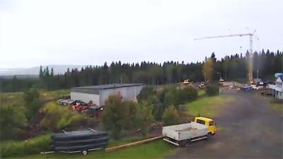 Byggeprosessen 2012-14 – Webcam nord