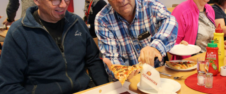 Pizzaglede på Hernes Institutt
