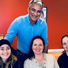 Besøk av Lia terapi fra Trysil