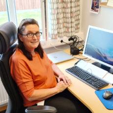 Marianne i vikariat som attføringskonsulent